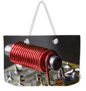 Electrical Coil With Iron Core Weekender Tote Bag