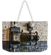 Electrical Energy Safety Switch Weekender Tote Bag by Paul Ward