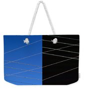 Electrical Grid Weekender Tote Bag