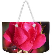Electron Tea Rose Weekender Tote Bag