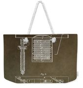 Electroplating Procedure Patent Weekender Tote Bag