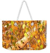 Elegant Autumn Branches Weekender Tote Bag