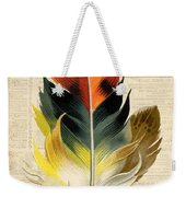 Elegant Feather-c Weekender Tote Bag