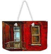 Elegant Victorian Beauty By Carole Spandau Montreal Memories Painter -art Historian Montreal Weekender Tote Bag