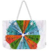 Elements With Zodiac Signs Weekender Tote Bag