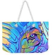 Elephant - Sky Blue Weekender Tote Bag