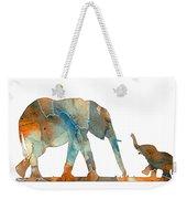 Elephant 01-2 Weekender Tote Bag