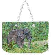 Elephant At Kruger Weekender Tote Bag