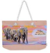 Elephant Fantasy Must Open Weekender Tote Bag