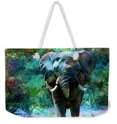 Elephant - Featured In Comfortable Art- Wildlife- And Nature Wildlife Groups Weekender Tote Bag