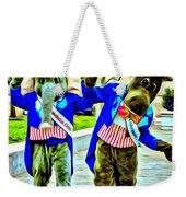 Elephant Or Donkey Weekender Tote Bag