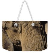 Elephant Portraint Weekender Tote Bag