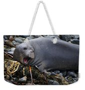 Elephant Seal Of Ano Nuevo State Reserve Weekender Tote Bag