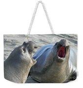 Elephant Seals - San Simeon California Weekender Tote Bag