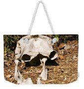 Elephant Skull Weekender Tote Bag