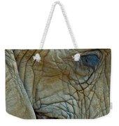 Elephant's Face Weekender Tote Bag