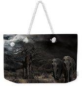Elephants Of The Serengeti Weekender Tote Bag