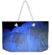 Elevated Blue Weekender Tote Bag