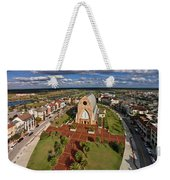 Elevated View Of Ave Maria Oratory Weekender Tote Bag