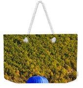 Elevated View Of Hot Air Balloon Weekender Tote Bag