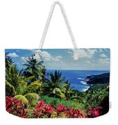 Elevated View Of Trees And Plants Weekender Tote Bag