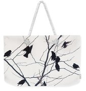 Eleven Birds One Morsel Weekender Tote Bag