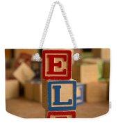 Eli - Alphabet Blocks Weekender Tote Bag