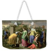 Eliezer And Rebecca At The Well Weekender Tote Bag