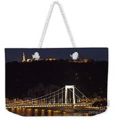 Elisabeth Bridge Budapest Weekender Tote Bag