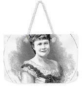Elizabeth Of Romania (1843-1916) Weekender Tote Bag