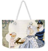 Elizabethan England Weekender Tote Bag by Georges Barbier