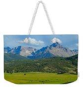 Elk Below Mount Sneffels Weekender Tote Bag