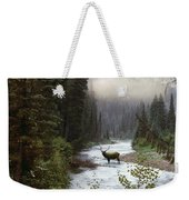 Elk Crossing Weekender Tote Bag