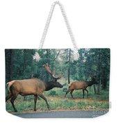 Elk Weekender Tote Bag