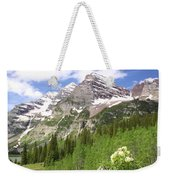 Elk Mountains Weekender Tote Bag by Eric Glaser
