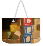 Ella - Alphabet Blocks Weekender Tote Bag