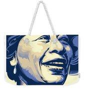 Ella Fitzgerald Portrait Weekender Tote Bag
