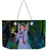 Ella Rose-courage Lights The Way Weekender Tote Bag