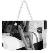 Raquel Bw Palm Springs Weekender Tote Bag