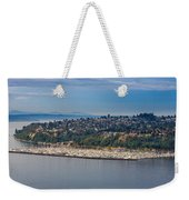 Elliott Bay Marina Weekender Tote Bag