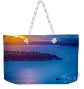 Elliott Bay Sunset Weekender Tote Bag