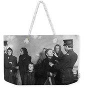 Ellis Island: Inspection Weekender Tote Bag
