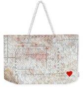 Elusive Love Weekender Tote Bag