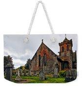 Elvanfoot Parish Church Weekender Tote Bag by Marcia Colelli