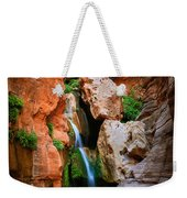 Elves Chasm Weekender Tote Bag by Inge Johnsson