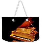 Elvis' Gold Piano Weekender Tote Bag