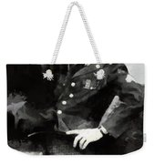 Elvis In Uniform Weekender Tote Bag