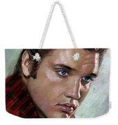 Elvis King Of Rock And Roll Weekender Tote Bag