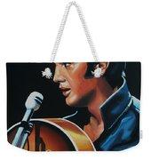 Elvis Presley 3 Painting Weekender Tote Bag