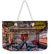 Elvis Presley At Albuquerque's 66 Diner Weekender Tote Bag